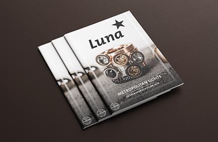 Luna* Kollektionskatalog<br>Frühling 18