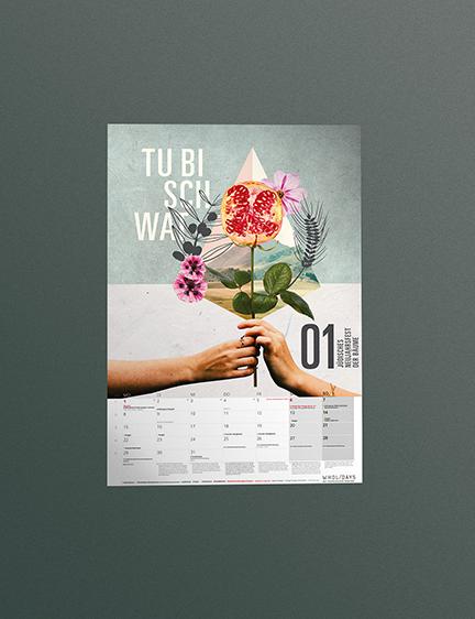 Kalenderblattgestaltung